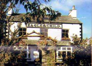 Eagle and Child Inn at Staveley.